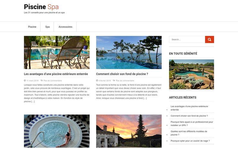 Piscine Spa - Les 31 conseils pour une piscine et un spa