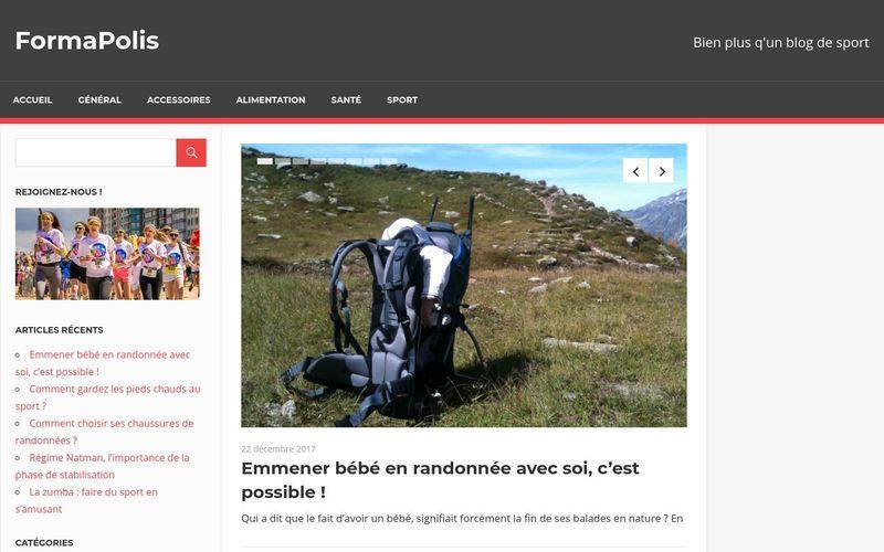 FormaPolis - Bien plus q'un blog de sport