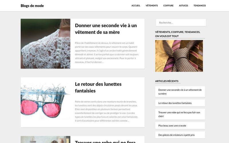 Blogs de mode - Le meilleur des blogs de mode sélectionné pour vous
